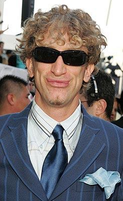 Andy Dick doesn't have facial tics - he has facial ANTICS. MTV Movie Awards - 6/5/2004