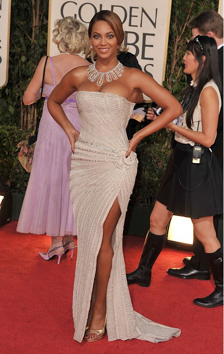 Beyonce Knowles Strapless GG