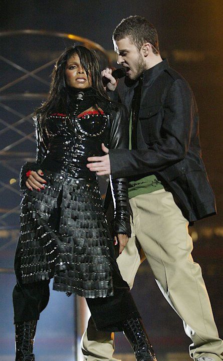 Janet Jackson and Justin Timberlake - 2004