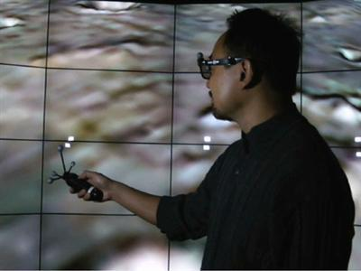 A Giant 3D Experience for Scientists