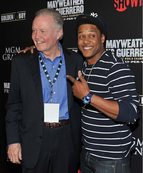 Pre-Fight Party For Mayweather v Guerrero Title Fight At The MGM Grand