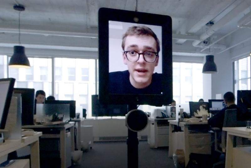 I used a robot to go to work from 3,500 miles away