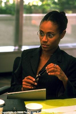 Jada Pinkett Smith as Sloan Hopkins in New Line's Bamboozled