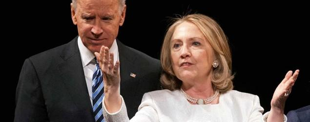 Clinton on possible Biden run: Give him 'space'
