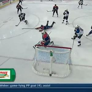 Stewart beats out of position Bryzgalov