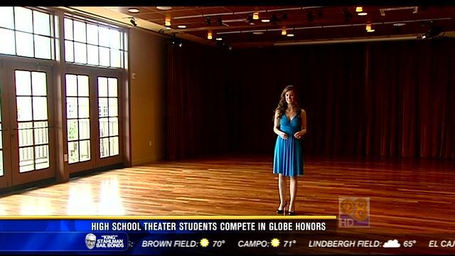 "High school theater students compete in ""Globe Honors"""