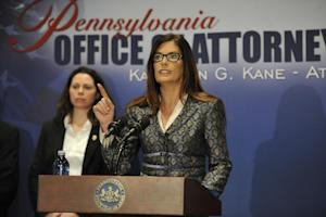 Pennsylvania Attorney General Kathleen Kane speaks …