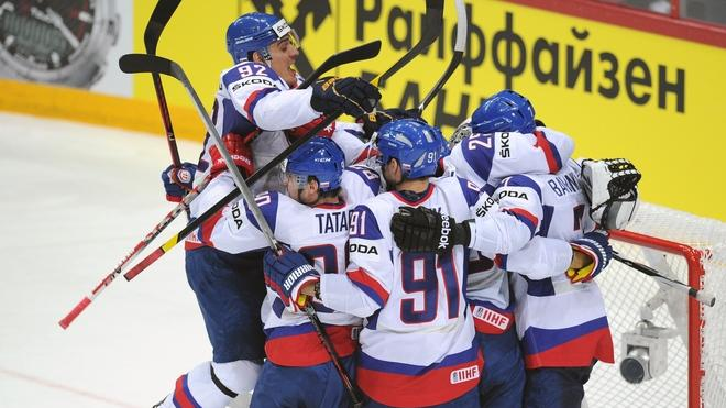 Slovakia's Players AFP/Getty Images