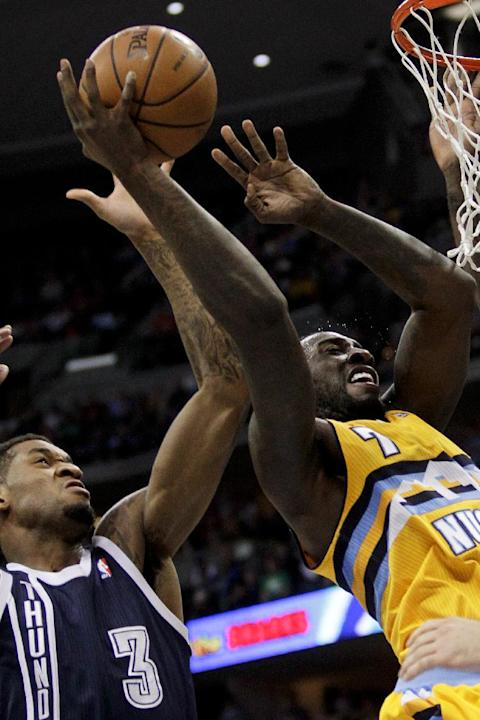 Foye scores 24, Nuggets beat Thunder 101-88