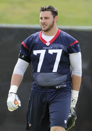 Texans' OT Quessenberry has lymphoma