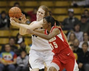 No. 23 Colorado women beat New Mexico 84-39