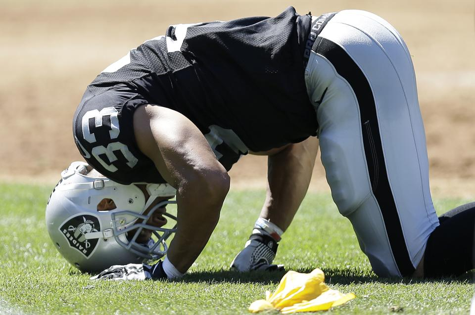 Raiders prepare for Manning without S Tyvon Branch