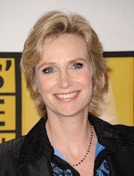 """Glee"" star Jane Lynch arrives at the Critics' Choice Television Awards at the Beverly Hills Hotel in Beverly Hills, Calif., on June 20, 2011  -- Getty Images"
