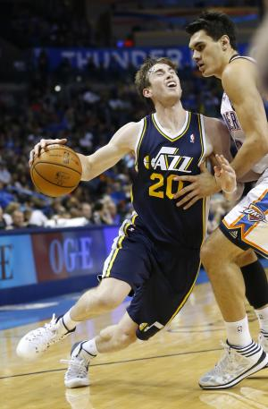 Jazz put faith in Hayward and Favors