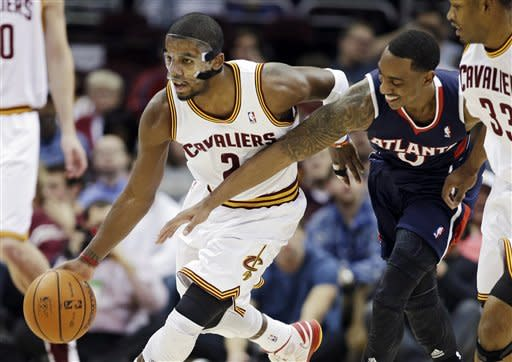 Irving scores 33 to lead Cavs past Hawks 99-83