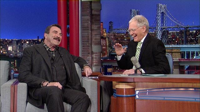 David Letterman - Tom Selleck's Indiana Jones Audition