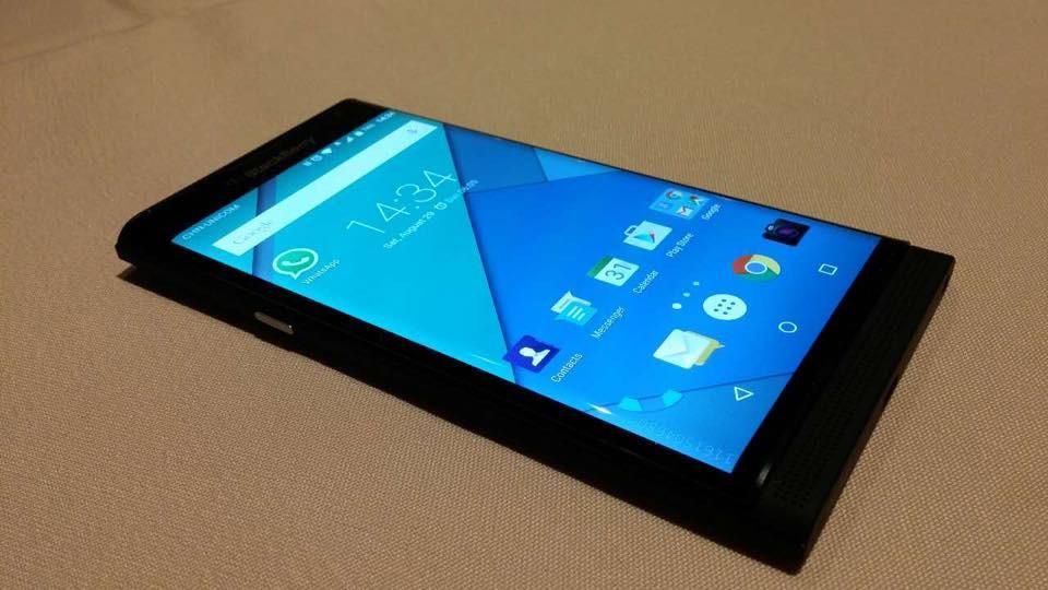Our best look yet at BlackBerry's first Android phone