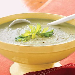 Follow this simple method to turn a creamy soup into a diet-friendly meal.