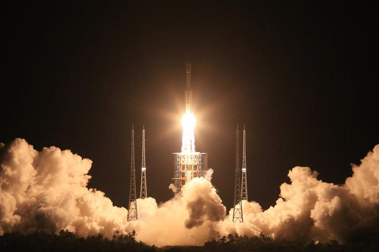 China launches new Long March 7 rocket in preparation for planned space station