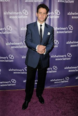 New Kid on The Block's Joey McIntyre arrives at the 20th Anniversary Alzheimer's Association 'A Night At Sardi's' at The Beverly Hilton Hotel in Beverly Hills, Calif., on March 21, 2012 -- Getty Images