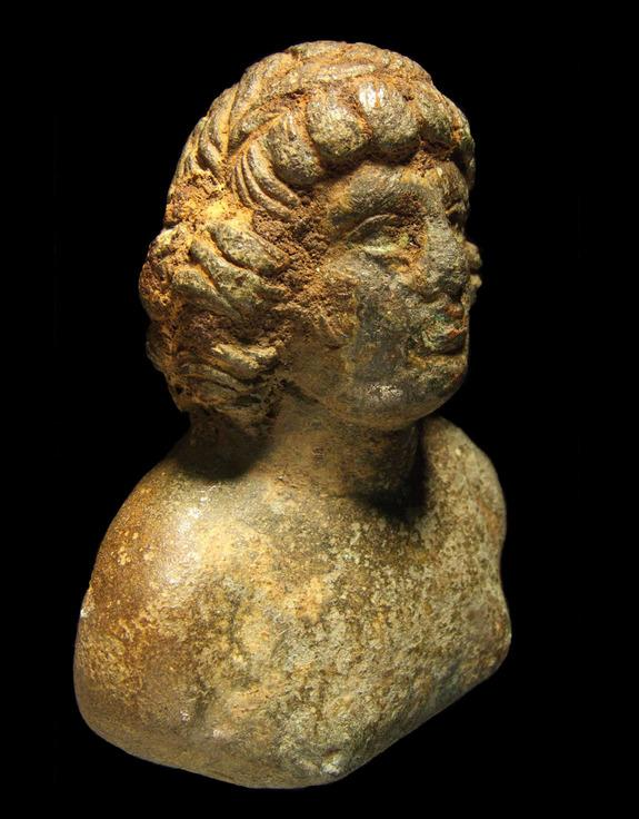 Penis-Shaped Bone & Lover's Bust Among Trove of Roman Art