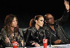 Steven Tyler, Jennifer Lopez and Randy Jackson | Photo Credits: Michael Becker/Fox