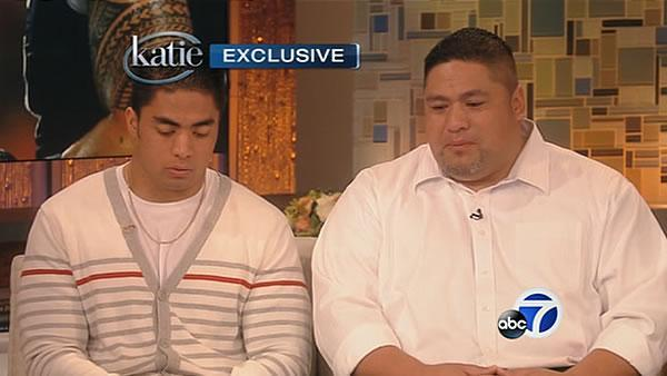 Manti Te'o tells Couric he briefly lied about girlfriend