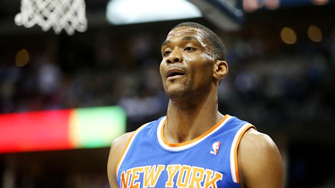 NBA: New York Knicks at Denver Nuggets