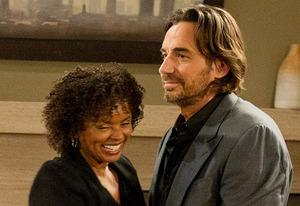 Debbi Morgan and Thorsten Kaye | Photo Credits: David M. Russell/The Online Network