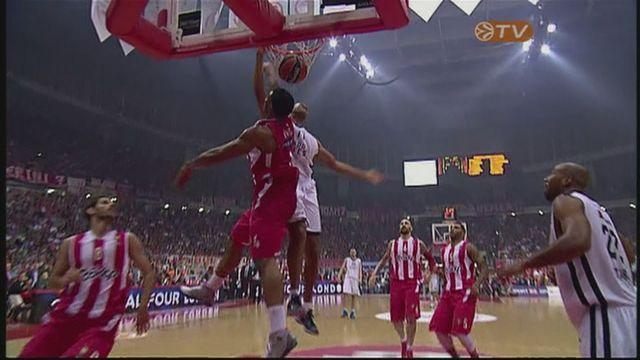 Olympiacos through to Final Four after 82-72 win over Anadolu Efes