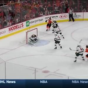 Darcy Kuemper Save on Zac Rinaldo (02:33/1st)