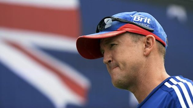 England's coach Andy Flower (Reuters)