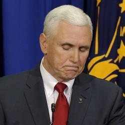 Mike Pence Sees Precipitous Drop In Approval Rating After Indiana 'Religious Freedom' Mess