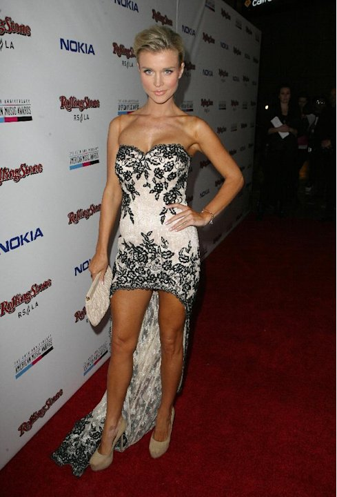 IMAGE DISTRIBUTED FOR NOKIA - Joanna Krupa arrives at the Rolling Stone American Music Awards After Party, on Sunday, Nov. 18, 2012 in Los Angeles. (Photo by Casey Rodgers/Invision for Nokia/AP Images