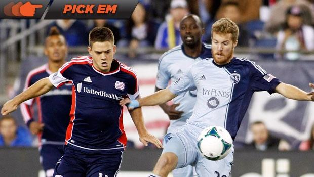 MLS Cup Playoff Pick 'Em: Editors like Sporting KC in leg 2, split on series winner vs. Revolution