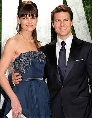 Cruise  Katie Split on Split    Tom Cruise And Katie Holmes  Credit  Pa