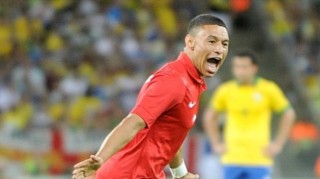 Alex Oxlade-Chamberlain netted in the Maracana