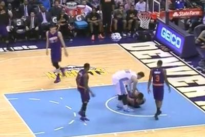 Jusuf Nurkic dominates opponent, gives him basketball as present