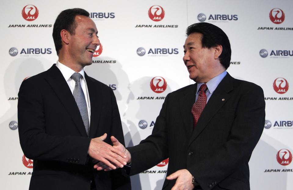 In blow to Boeing, JAL makes 1st buy from Airbus