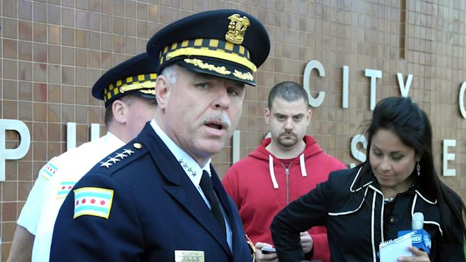 Chicago Police Superintendent Garry McCarthy, pictured in May 2012, has been fired, Mayor Rahm Emanuel said December 1 2015 as tensions run high after the release of a graphic video showing a Chicago cop shooting a black teenager 16 times
