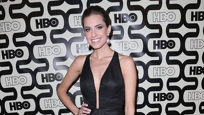 HBO's Post 2013 Golden Globe Awards Party - Arrivals: Allison Williams