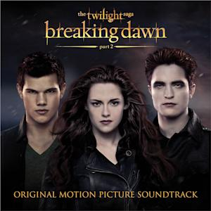 "This CD cover image released by Atlantic records shows the original motion picture soundtrack for ""The Twilight Saga: Brealing dawn Part 2."" (AP Photo/Atlantic)"