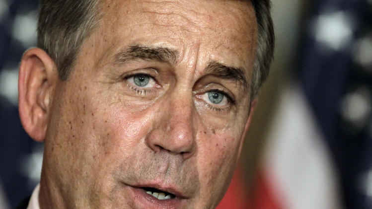 Boehner to pursue 2nd legislative track on taxes