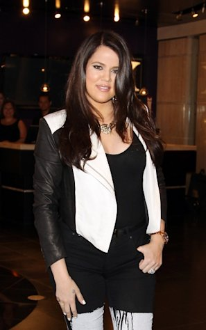Khloe Kardashian Odom spotted at Kardashian Khaos at the Mirage Hotel & Casino in Las Vegas on August 24, 2012 -- Getty Premium