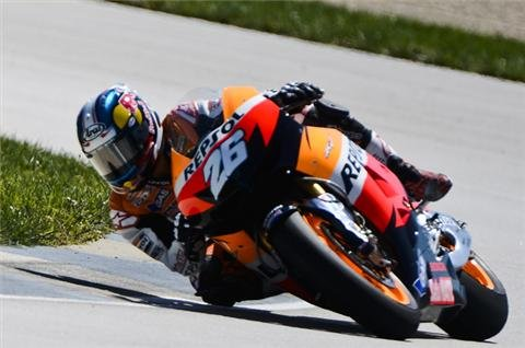 Pedrosa wins Indianapolis MotoGP