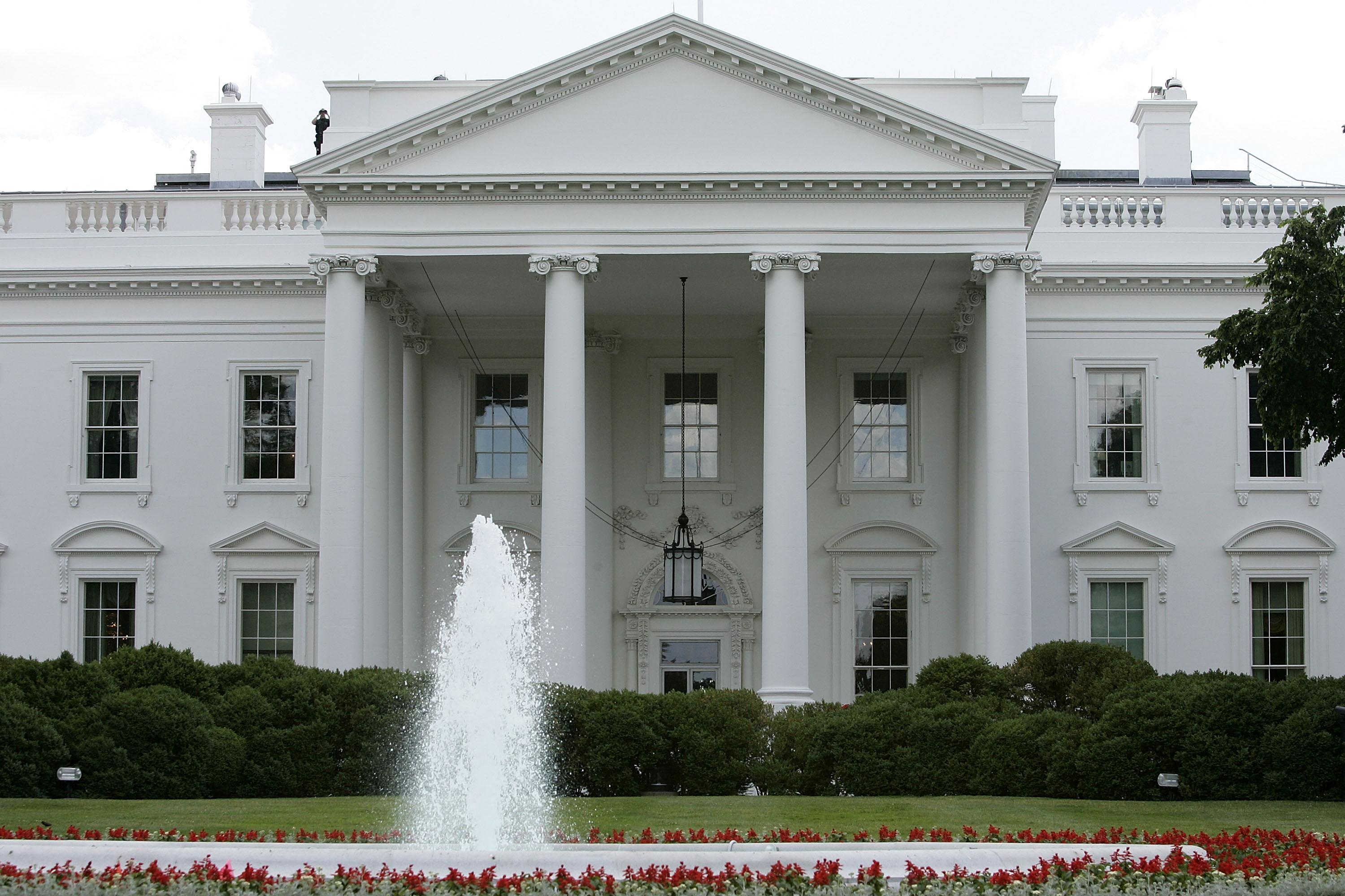White House intruder arrested