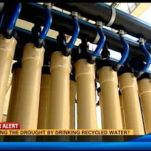 Fighting the drought by drinking recycled water?