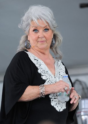Paula Deen in February. (Photo by Serg Alexander/Getty Images)