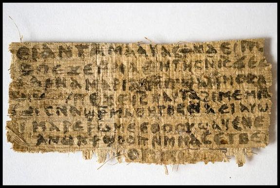 'Gospel of Jesus' Wife' Faces Authenticity Tests