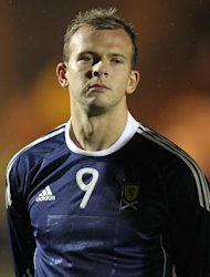 Jordan Rhodes said his goal for Scotland was a dream come true